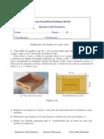 Questão de Aula Formativa- Funções Polinomiais- Otimização do Volume