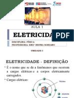AULA 1 – ELETRICIDADE (3V)