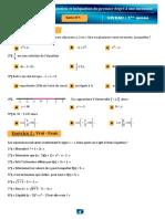 Serie 1QCMequation