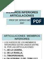 CLASE 19 MIEMBROS INFERIORES ARTICULACIONES (PPTshare)