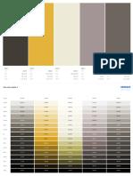Cafe color palette 4