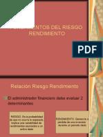 Fundamentos del Riesgo - Rendimiento