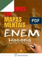 HISTÓRIA - ENEM - Resumos em Mapas Mentais