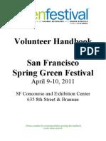 Volunteer  Handbook_SFSpring2011