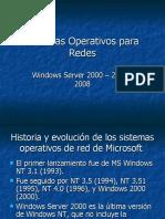 Sistemas Operativos para Redes