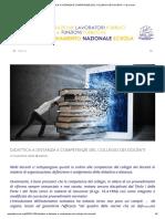 Didattica a Distanza e Competenze Del Collegio Dei Docenti – Flp Scuola