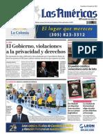 Portada Diario Las Américas 24 Sep 2021 1