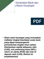 Indikator Kesehatan Bank Dan Rasio-Rasio Keuangan