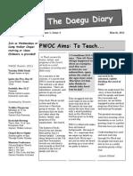 PWOC Area 4 Newsletter Mar 2011