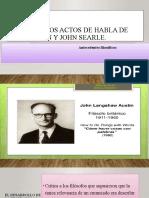 pragma, Teoría de los actos de habla de John ppt mayo 25