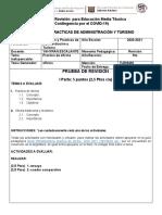 Prueba de Revisión 5to de Turismo (Practica de Oficina)