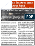 Australasian Zoo & Circus History Journal Issue 1