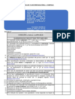 Checklist -  FASE PREPARATÓRIA - COMPRAS