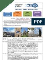 2011 May Encountering Jesus Israel Trip_EN