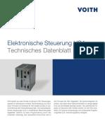 Elektronische Steuerung HS4 Technisches Datenblatt
