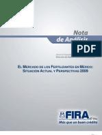 El Mercado de los Fertilizantes en México 2009