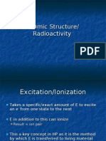 Atomic Structure and Radioactivity