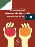 Manual de Nutrição Sociedade Brasileira de Diabetes