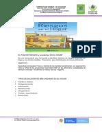 PLAN DE GESTION DE RIESGO EN EL HOGAR