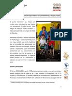 Caracterización del pueblo Camentsá