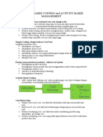 Activity Based Costing and Activity Based Management