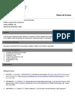 0 - Plano de Ensino - Introdução aos Sistemas de Comunicação - EEl001