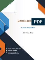 70531 Fiche Methodes Limite Et Continuite (1)