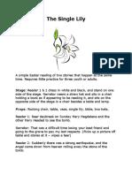 The Single Lily Drama