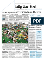 The Daily Tar Heel for April 11, 2011