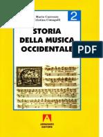 STORIA DELLA MUSICA 2 di Carrozzo e Cimagalli