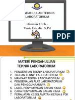 Pendahuluan Teknik Laboratorium Vania F.,S.Pd