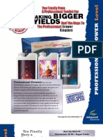 Professional Grower Level - Advanced Nutrients