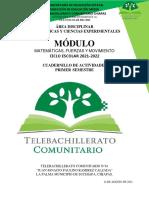 actividades 1er semestre telebachillearto comunitario