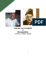 Charlas Mias Con Gurdjieff y Nisargadata