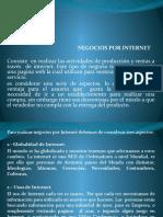DIAPO NEGOCIO POR INTERNET