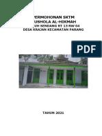 COVER - PERMOHONAN SKTM - MUSHOLA AL HIKMAH