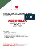 Assemblea Inaf Catania Del 11 Aprile 2011