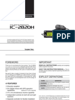 IC-2820HManual