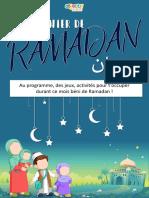 Mon Cahier de Ramadan Www.objectif Ief.com