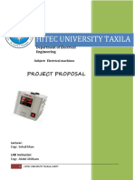 Project Proposel ( Ac Voltage Steblizier