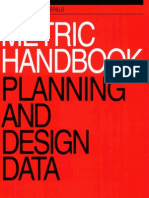 Metric handbook - planning and design data. 3rd edition. Part 0 - Contents, preface and acknowledgements. (1 of 48)