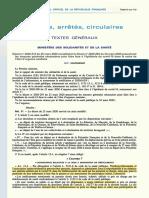 France Decret 2020-314 Du 25 Mars 2020_Prescrition Encadrée COVID19