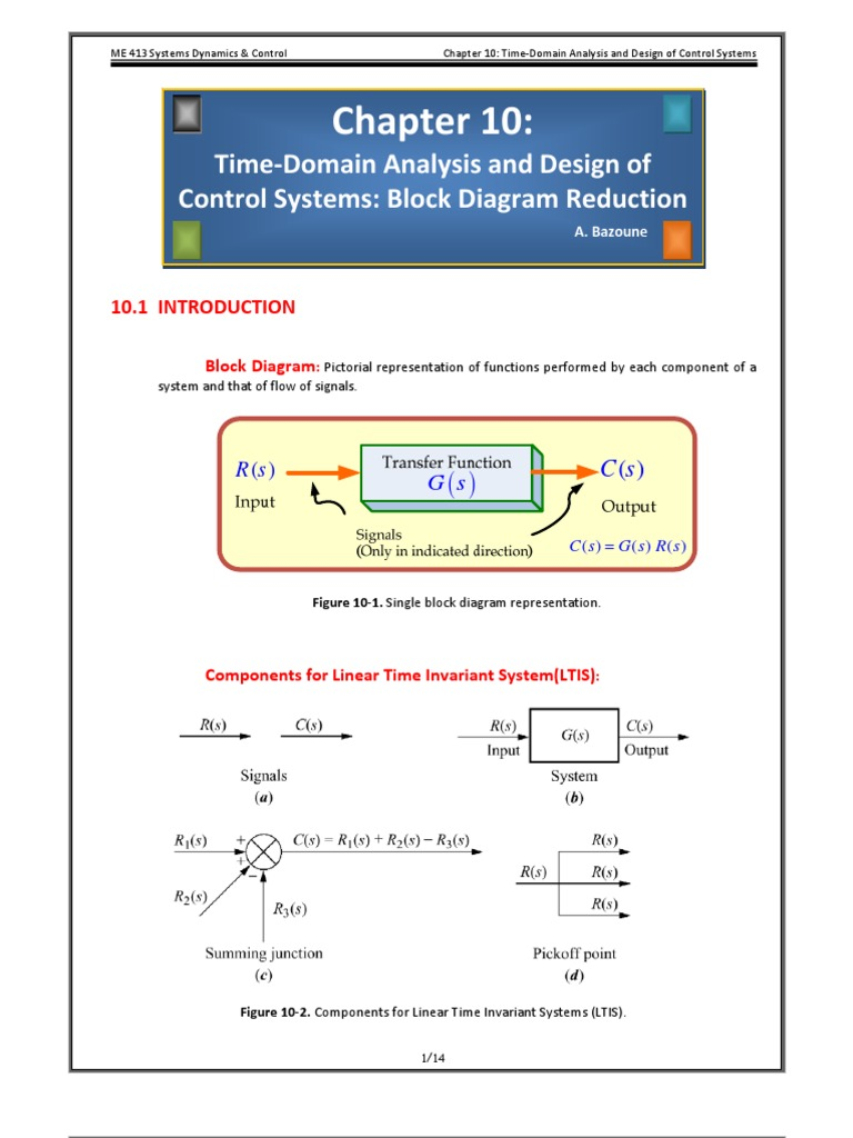 Chapter 10 reduction block diagram pooptronica Image collections