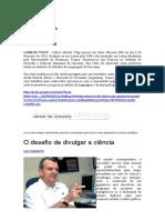 Cultura+Científica+Carlos+Vogt