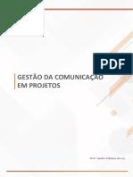 Gestão Comunicação Projetos - Aula 3
