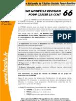 Communiqué FO C66  7 avril 2011