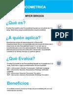 Test Indicador de Myers FICHA TECNICA
