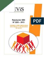 Resolución SBS N° 3203 - 2013