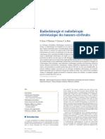 Radiochirurgie et radiothérapie stéréotaxique des tumeurs cérébrales
