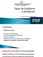 Aula 2 - Tipos de Auditoria